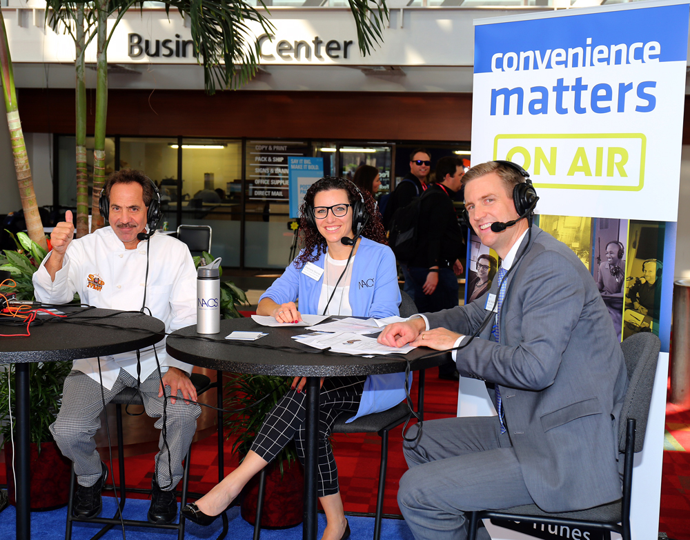 CONVENIENCE MATTERS: LARRY THOMAS, THE SOUP NAZI AT THE NACS SHOW, ATLANTA, GA