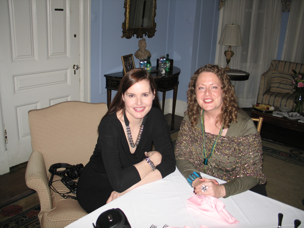The Scoop: Geena Davis at the National Democratic Club, Washington, DC